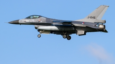 Photo ID 225125 by Alfred Koning. Netherlands Air Force General Dynamics F 16AM Fighting Falcon, J 646