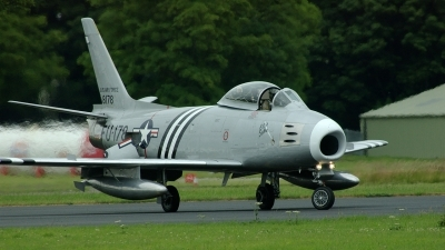 Photo ID 225177 by Michael Baldock. Private Golden Apple Operations Ltd North American F 86A Sabre, G SABR