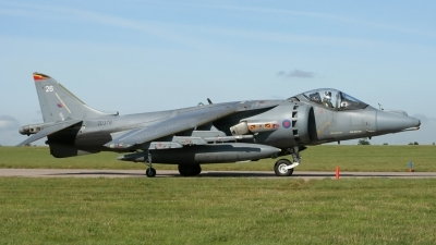 Photo ID 25791 by Gary Stedman. UK Air Force British Aerospace Harrier GR7, ZD378
