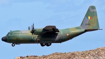 Photo ID 225253 by Adolfo Bento de Urquia. Romania Air Force Lockheed C 130B Hercules L 282, 6166