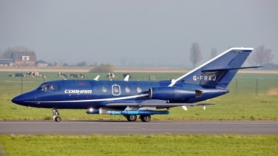 Photo ID 225257 by Dieter Linemann. Company Owned Cobham Aviation Dassault Falcon 20E, G FRAJ