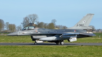 Photo ID 225259 by Dieter Linemann. Netherlands Air Force General Dynamics F 16AM Fighting Falcon, J 362
