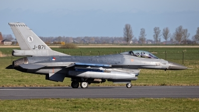 Photo ID 225277 by Rainer Mueller. Netherlands Air Force General Dynamics F 16AM Fighting Falcon, J 871
