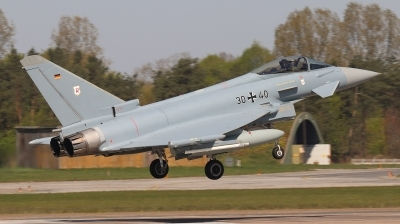 Photo ID 225333 by Thomas Land. Germany Air Force Eurofighter EF 2000 Typhoon S, 30 40