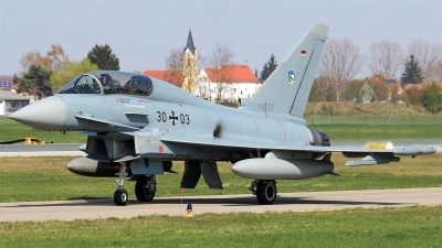 Photo ID 225363 by Mick Balter - mbaviation-images. Germany Air Force Eurofighter EF 2000 Typhoon T, 30 03