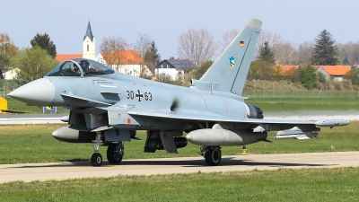 Photo ID 225380 by Mick Balter - mbaviation-images. Germany Air Force Eurofighter EF 2000 Typhoon S, 30 63