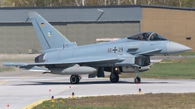 Photo ID 225394 by Mick Balter - mbaviation-images. Germany Air Force Eurofighter EF 2000 Typhoon S, 30 29
