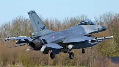 Photo ID 225436 by Dieter Linemann. Netherlands Air Force General Dynamics F 16AM Fighting Falcon, J 144