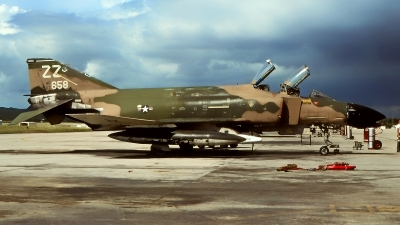 Photo ID 225491 by Gerrit Kok Collection. USA Air Force McDonnell Douglas F 4D Phantom II, 66 7658