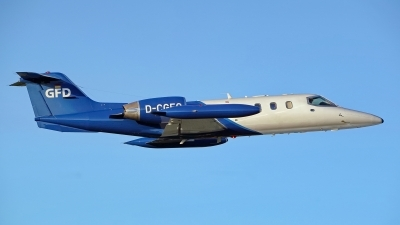 Photo ID 225476 by Dieter Linemann. Company Owned GFD Learjet 35A, D CGFQ