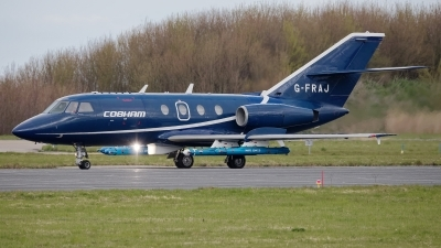 Photo ID 225482 by Rainer Mueller. Company Owned Cobham Aviation Dassault Falcon 20E, G FRAJ