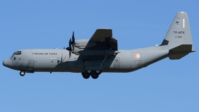Photo ID 225484 by Alberto Gonzalez. Tunisia Air Force Lockheed Martin C 130J 30 Hercules L 382, Z21121