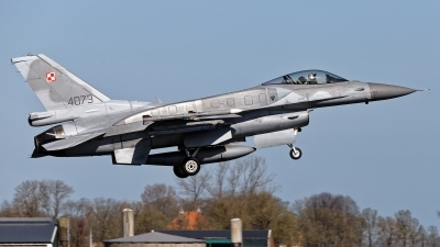 Photo ID 225515 by Rainer Mueller. Poland Air Force General Dynamics F 16C Fighting Falcon, 4073