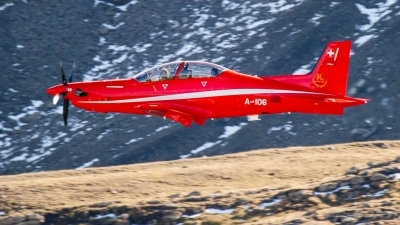 Photo ID 225682 by Agata Maria Weksej. Switzerland Air Force Pilatus PC 21, A 106