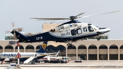 Photo ID 225733 by Ray Biagio Pace. Cyprus Police AgustaWestland AW139, CP 8