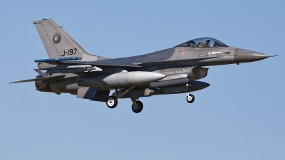 Photo ID 225793 by Rainer Mueller. Netherlands Air Force General Dynamics F 16AM Fighting Falcon, J 197