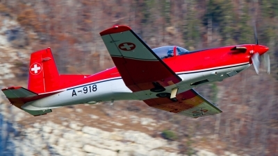 Photo ID 225792 by Agata Maria Weksej. Switzerland Air Force Pilatus NCPC 7 Turbo Trainer, A 918