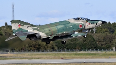 Photo ID 225794 by Tonnie Musila. Japan Air Force McDonnell Douglas RF 4E Phantom II, 57 6907