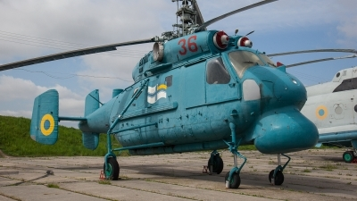 Photo ID 225828 by M. Hauswald. Ukraine Navy Kamov Ka 25PL, 36 RED