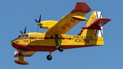 Photo ID 225887 by Bartolomé Fernández. Spain Air Force Canadair CL 215T, UD 13 19
