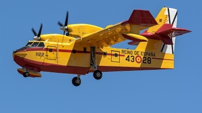 Photo ID 225888 by Bartolomé Fernández. Spain Air Force Canadair CL 215T, UD 13 28