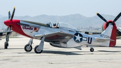 Photo ID 225916 by W.A.Kazior. USA Army Air Force North American P 51D Mustang, NL151D