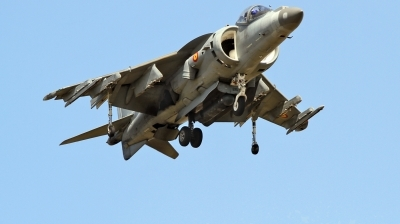 Photo ID 225982 by Helwin Scharn. Spain Navy McDonnell Douglas EAV 8B Harrier II, VA 1B 38