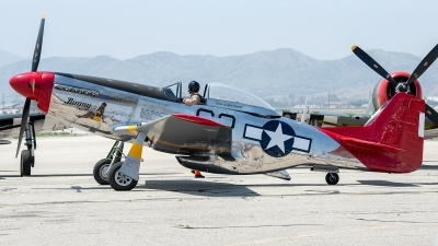 Photo ID 226076 by W.A.Kazior. Private Palm Springs Air Museum North American P 51D Mustang, NL151BP