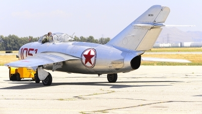 Photo ID 225994 by Peter Boschert. Private Planes of Fame Air Museum Mikoyan Gurevich MiG 15bis, NX87CN
