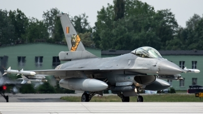 Photo ID 226015 by Thomas Ziegler - Aviation-Media. Belgium Air Force General Dynamics F 16AM Fighting Falcon, FA 69