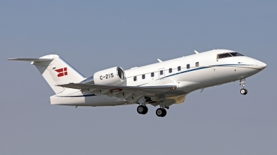 Photo ID 226047 by Walter Van Bel. Denmark Air Force Canadair CL 600 2B16 Challenger 604, C 215