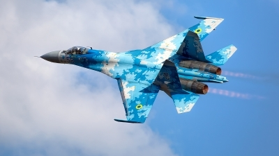 Photo ID 226089 by Robin Coenders / VORTEX-images. Ukraine Air Force Sukhoi Su 27P1M,