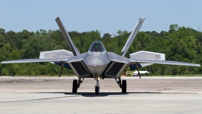 Photo ID 226135 by Alfred Koning. USA Air Force Lockheed Martin F 22A Raptor, 04 4078