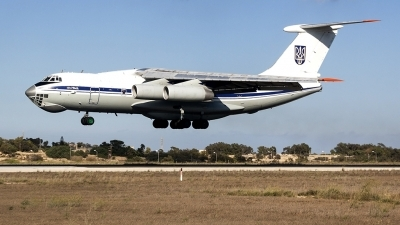 Photo ID 226128 by Ray Biagio Pace. Ukraine Air Force Ilyushin IL 76MD, 78820