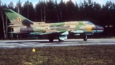 Photo ID 226129 by Rainer Mueller. Russia Air Force Sukhoi Su 17M4 Fitter K,