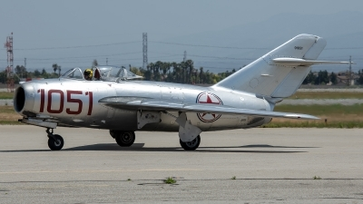 Photo ID 226146 by W.A.Kazior. Private Planes of Fame Air Museum Mikoyan Gurevich MiG 15bis, NX87CN