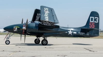 Photo ID 226147 by W.A.Kazior. Private Planes of Fame Air Museum Grumman F 7F 3P Tigercat, N700F