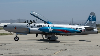 Photo ID 226149 by W.A.Kazior. Private Palm Springs Air Museum Lockheed TV 2 Shooting Star, N6633D
