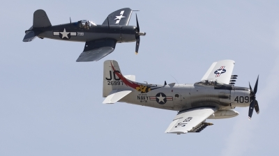 Photo ID 226144 by Nathan Havercroft. Private Comanche Warbirds Inc Douglas A 1D Skyraider AD 4NA, NX409Z