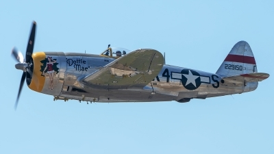 Photo ID 226238 by W.A.Kazior. Private Vintage Fighters LLC Republic P 47D Thunderbolt, NX47DM