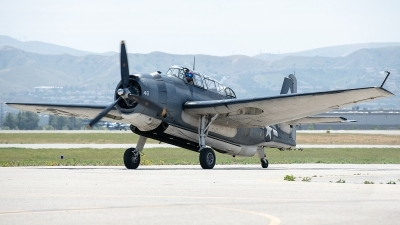 Photo ID 226226 by W.A.Kazior. Private Planes of Fame Air Museum Grumman TBM 3E Avenger, N7835C