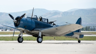 Photo ID 226225 by W.A.Kazior. Private Planes of Fame Air Museum Douglas SBD 5 Dauntless, NX670AM