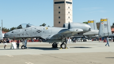 Photo ID 226394 by W.A.Kazior. USA Air Force Fairchild A 10A Thunderbolt II, 80 0270