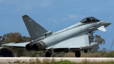 Photo ID 226381 by Thomas Ziegler - Aviation-Media. UK Air Force Eurofighter Typhoon FGR4, ZK304
