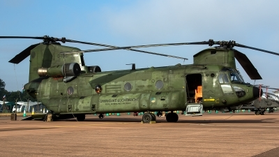 Photo ID 226346 by Thomas Ziegler - Aviation-Media. Netherlands Air Force Boeing Vertol CH 47D Chinook, D 106
