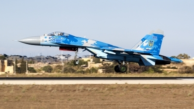 Photo ID 226407 by Ray Biagio Pace. Ukraine Air Force Sukhoi Su 27P1M,