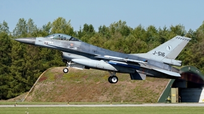 Photo ID 226304 by Dieter Linemann. Netherlands Air Force General Dynamics F 16AM Fighting Falcon, J 516