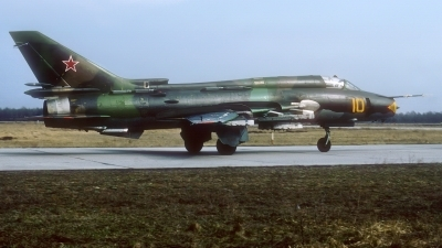 Photo ID 227003 by Rainer Mueller. Russia Air Force Sukhoi Su 17M4 Fitter K, 10 YELLOW