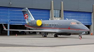 Photo ID 226416 by Helwin Scharn. Denmark Air Force Canadair CL 600 2B16 Challenger 604, C 080