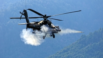 Photo ID 226437 by Myron Giannakakis. Greece Army Boeing AH 64DHA Apache Longbow, ES1022